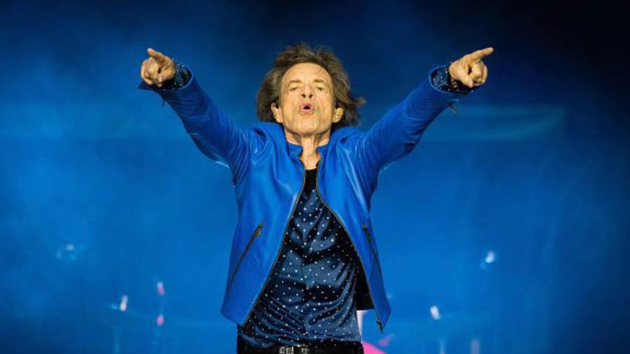 Mick Jagger back in training for Rolling Stones Tour