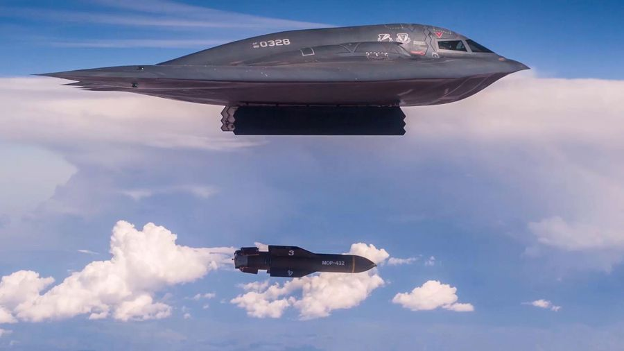 U.S. Air Force Release Chilling Bunker Buster Bomb Video