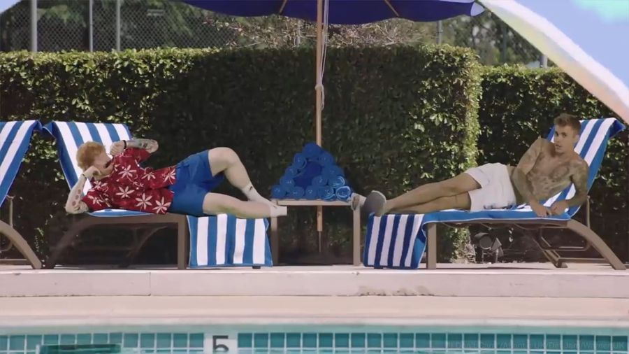Justin Bieber and Ed Sheeran 'I Don't Care' video is here