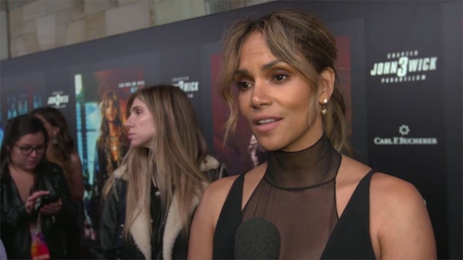 Halle Berry confirms giant spine tattoo was fake