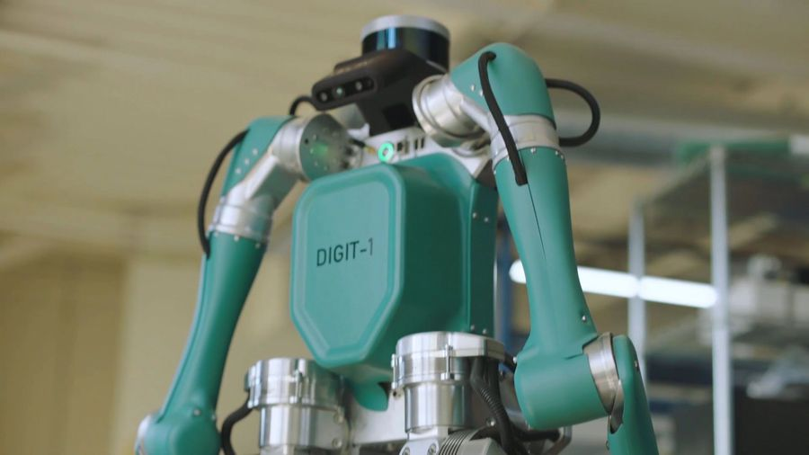 Two-Legged Robot Delivers Packages To Your Door