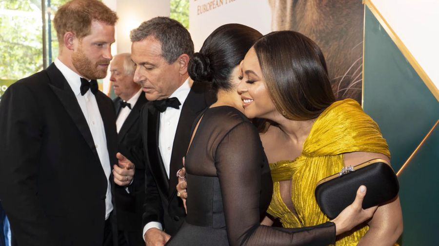 Beyonce gushed about 'beautiful' baby Archie in premiere chat with Duchess of Sussex