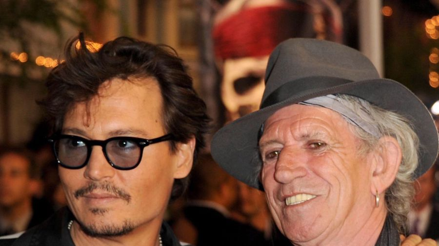 Johnny Depp and Keith Richards stun diners with Indian restaurant visit
