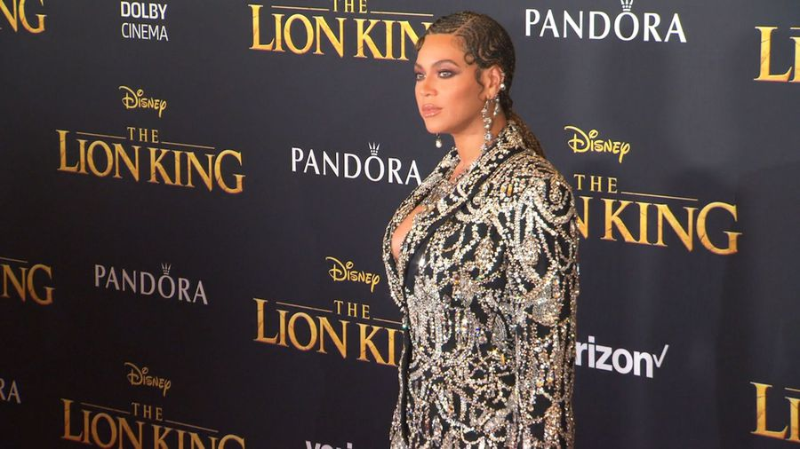 Beyonce is still shocked that she's a part of 'The Lion King'