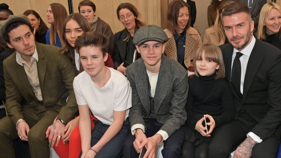 David Beckham tells his kids to 'work hard and make sacrifices' to be successful