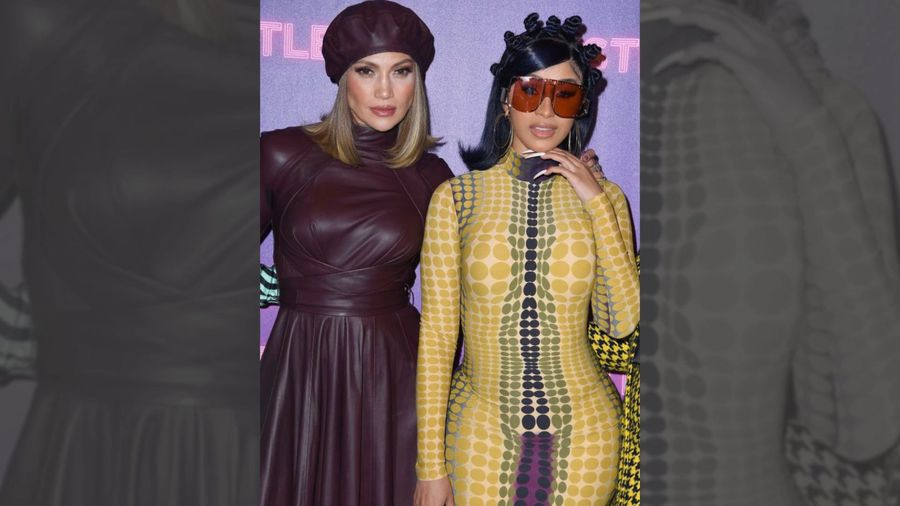 Jennifer Lopez turned to former stripper Cardi B for pole dancing motivation