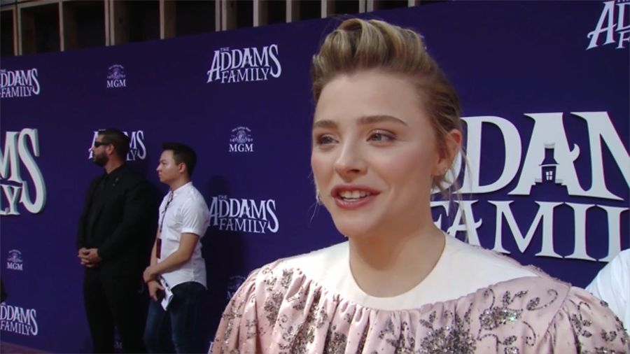 Chloe Grace Moretz grew up in a haunted house