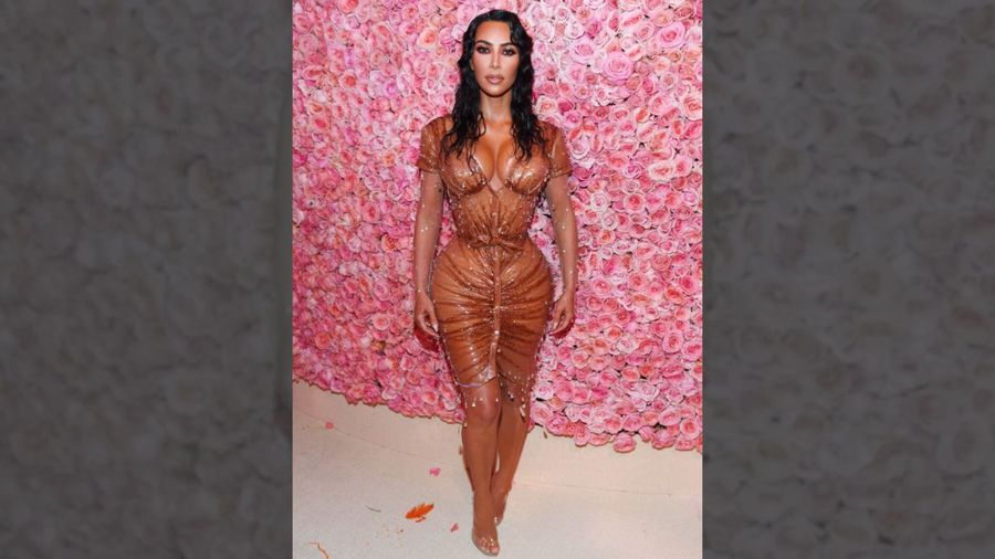 Kim Kardashian thought she'd have to wet herself in Met Gala dress