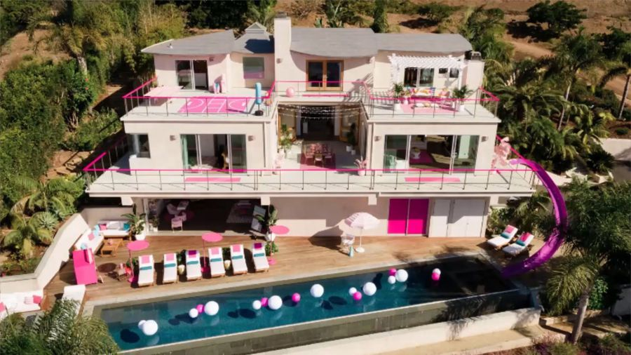 Barbie Malibu Dreamhouse available on Airbnb