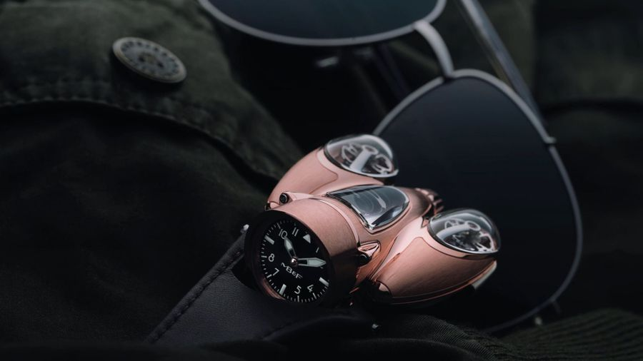 GBP154,000 'Horological Machine' Watch Pays Homage To Cars And Planes Of The 1940's And 50's
