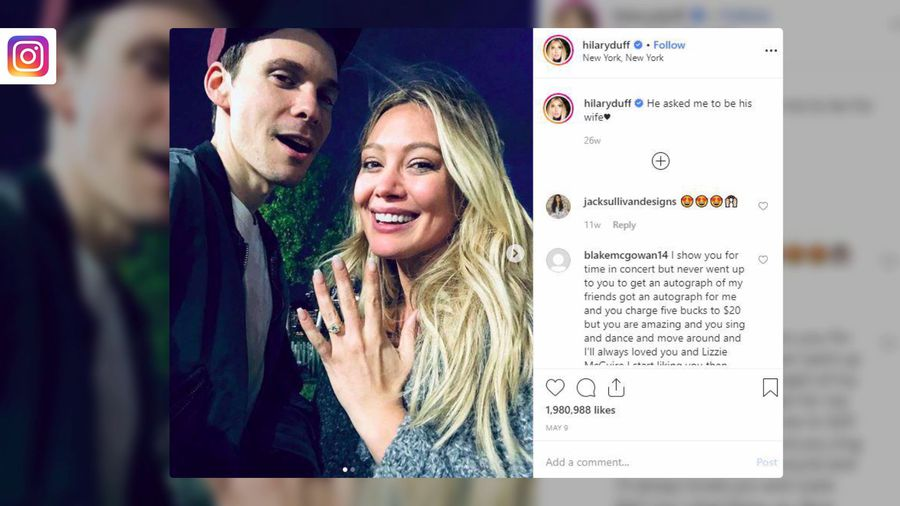 Hilary Duff is not secretly married