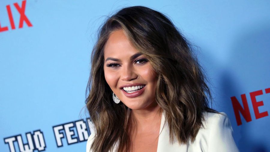 Chrissy Teigen slams Sharon Osbourne for criticising lyric change in festive classic