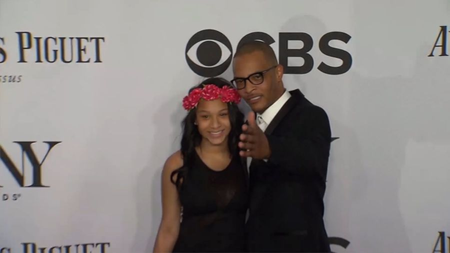 T.I.'s daughter unfollows dad after virginity test furore