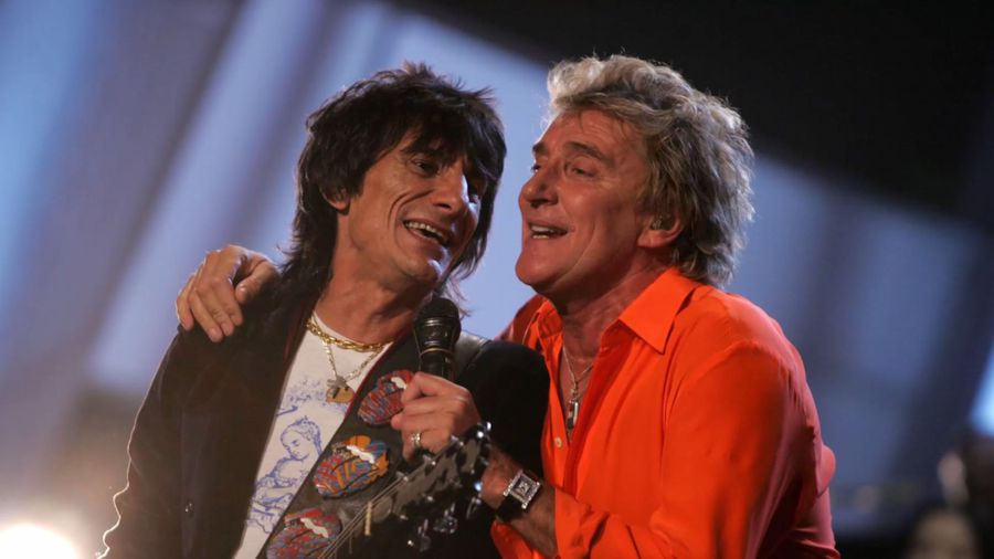 Ronnie Wood encouraged Rod Stewart to open up on cancer battle