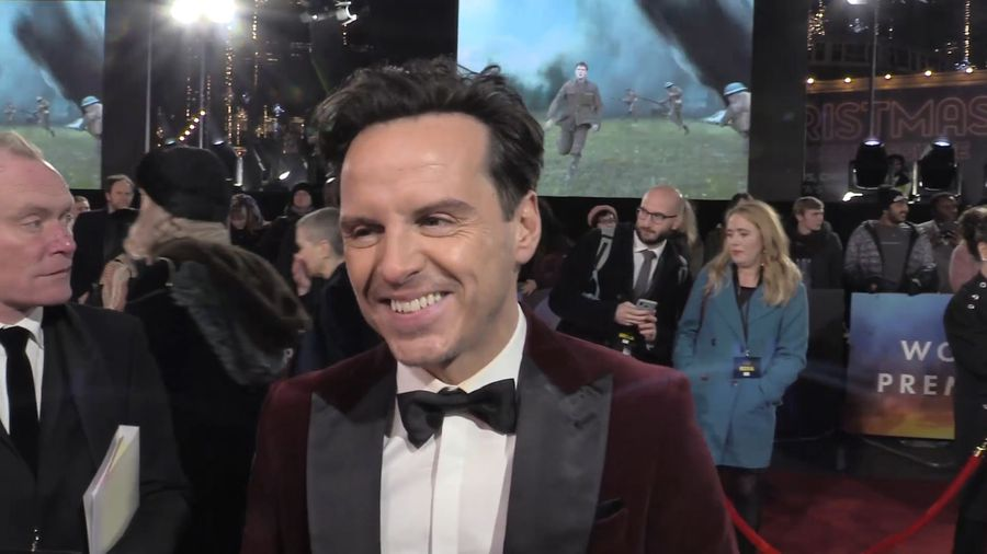 Andrew Scott sheds light on the challenges involved working on '1917'