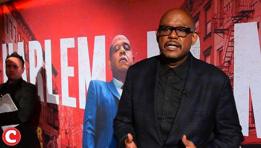 Godfather of Harlem red carpet experience with Forest Whitaker