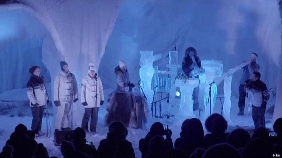 Strange sounds at the Ice Music Festival