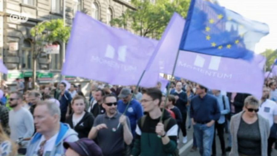 Pro-EU Hungarians hope to build momentum in EP election