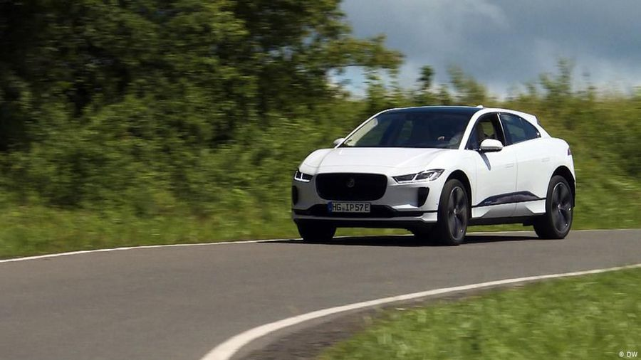 All-electric: Jaguar I-Pace