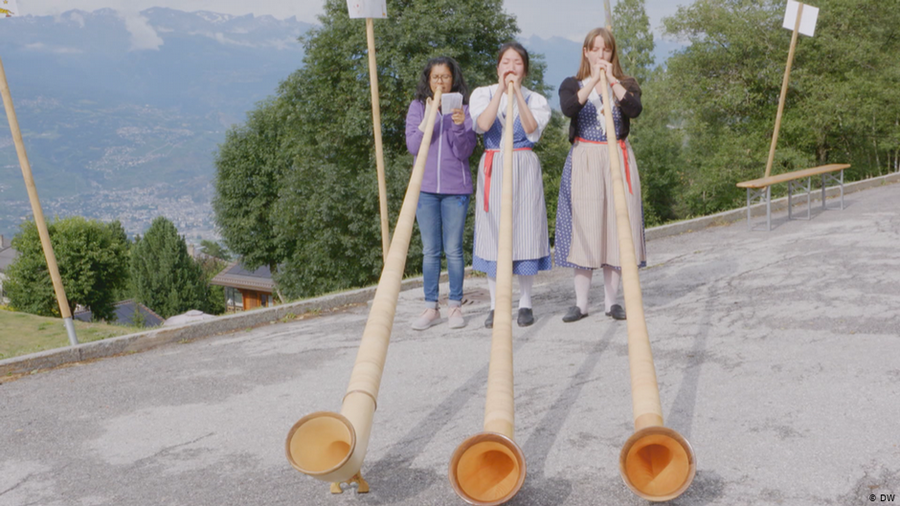 The Alphorn - a piece of Swiss culture