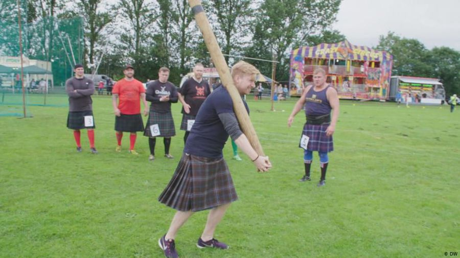 Quirky Customs: Highland Games