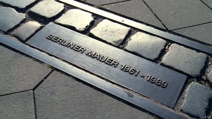 Where did the Berlin Wall once stand?