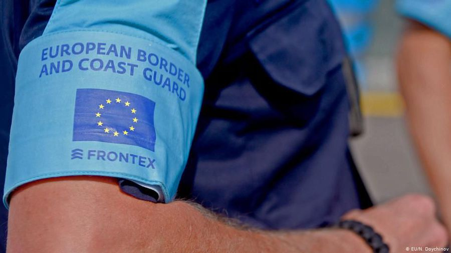 Frontex-Deployment on Albania's border with Greece