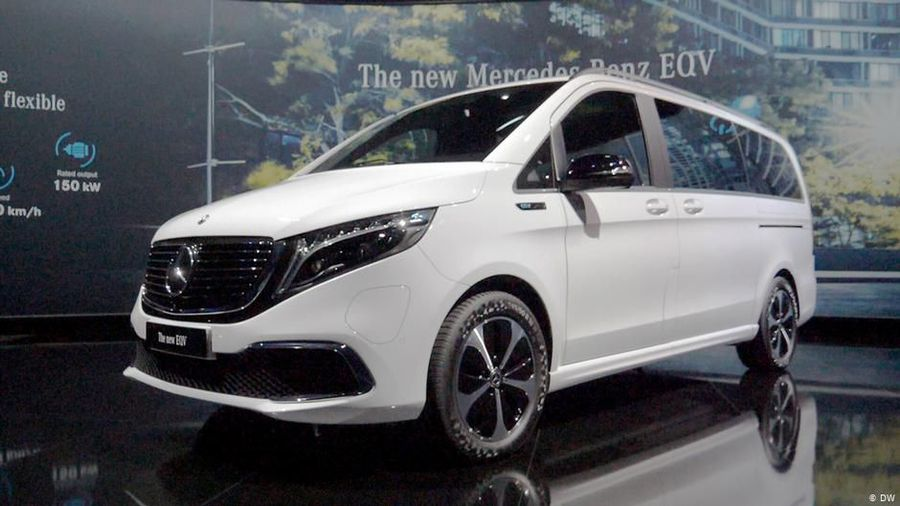 Spacious & all-electric: Mercedes EQV
