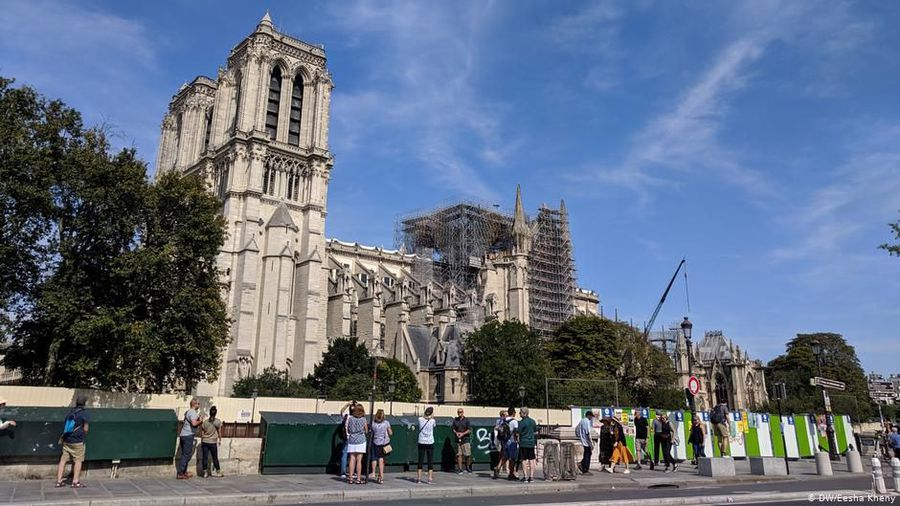 Disputes continue over rebuilding of Notre Dame cathedral