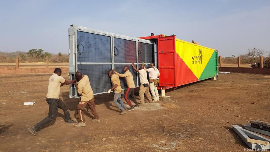 Mali: Solar power for Mali