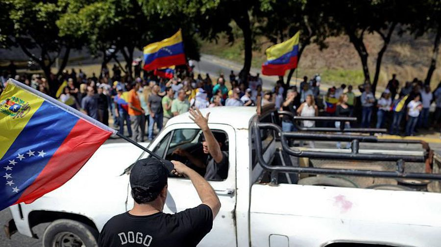 French and Spanish reporters among foreign journalists held in Venezuela