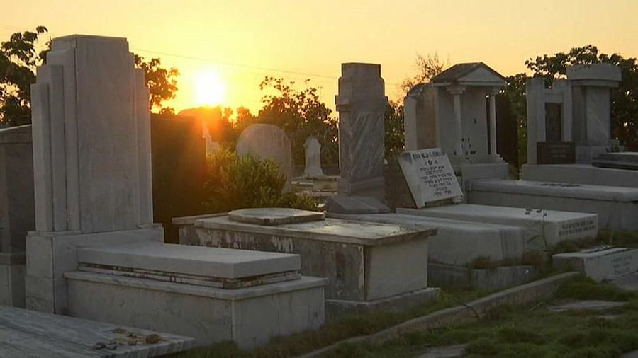 Watch: Cuba's shrunken Jewish population works to restore historic cemetery