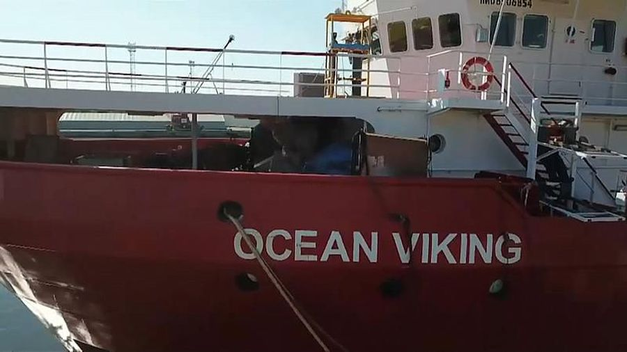 Ocean Viking: out of the 103 children onboard, only 11 are accompanied