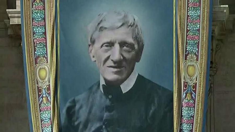 Cardinal Newman declared a saint by Pope Francis along with four other religious figures