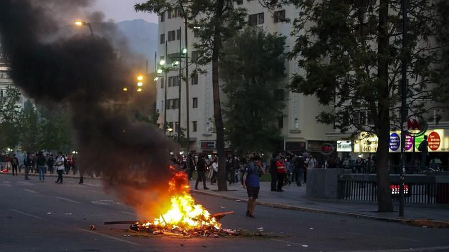 Chile's president declares state of emergency in capital Santiago