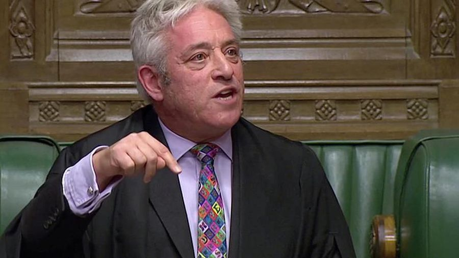 Watch again: UK parliament speaker refuses to allow 'yes-no' vote on Brexit deal