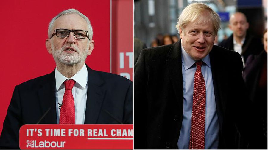 UK leaders' debate: Boris Johnson and Jeremy Corbyn clash over Brexit, security and fake news
