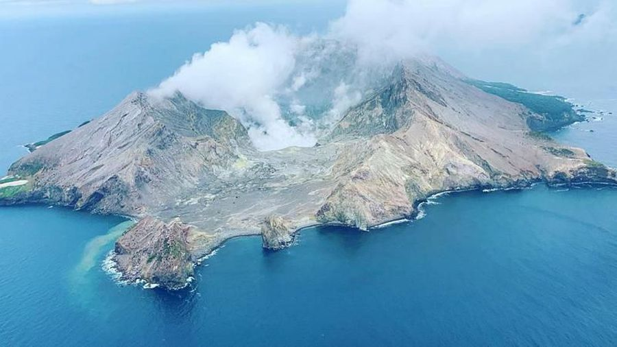 White Island Volcano erupts in New Zealand leaving at least five dead and several injured