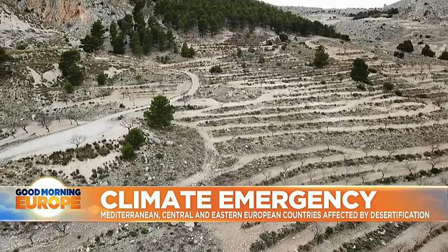 Climate Change: Mediterranean, Central and Eastern European countries affected by desertification