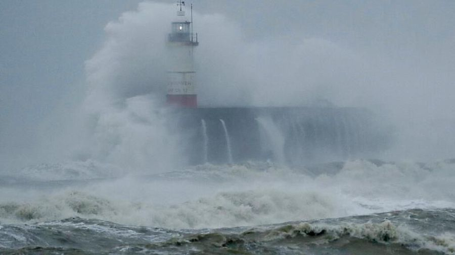 Deadly Storm Dennis menaces UK with another weekend of wild weather