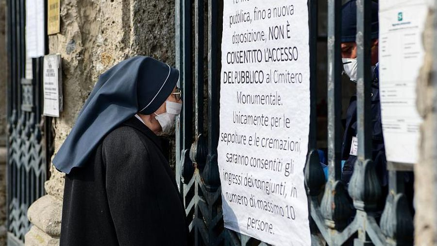 Italian mayor claims the true death toll from COVID-19 likely to be much higher