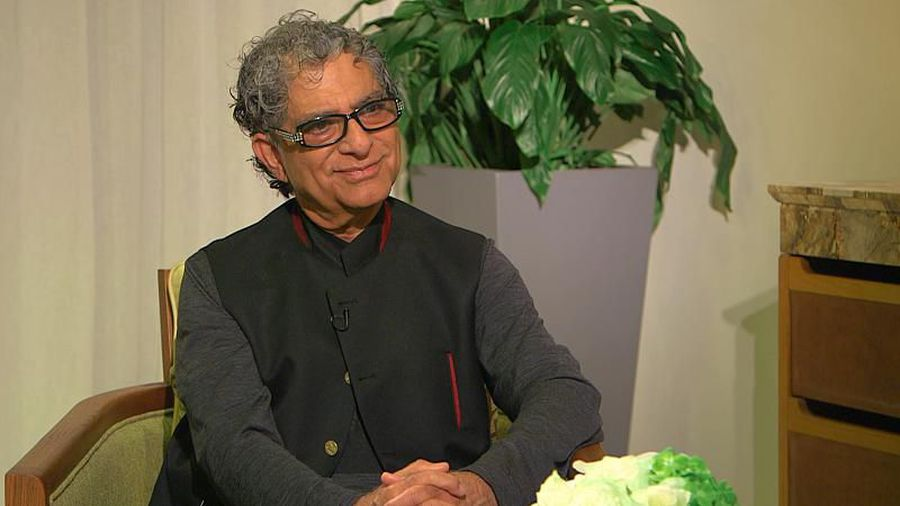 Deepak Chopra advises on how to cope with stress in times of crisis