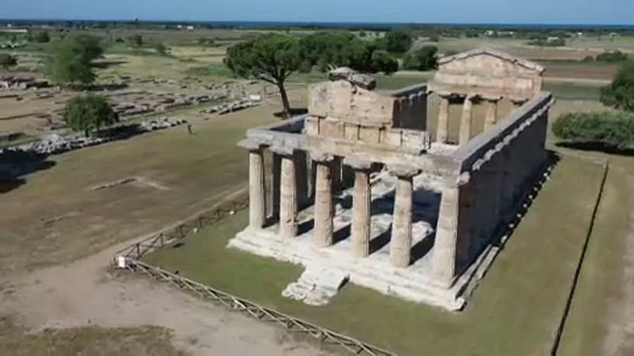 Archaeological World Heritage site in Italy welcomes back visitors