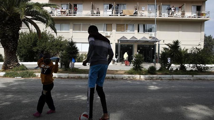 Thousands of migrants face eviction in Greece sparking fears over homelessness