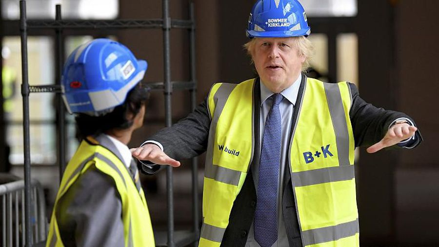 'Build build build!': Boris Johnson sets out 'new deal' on infrastructure to boost UK economy