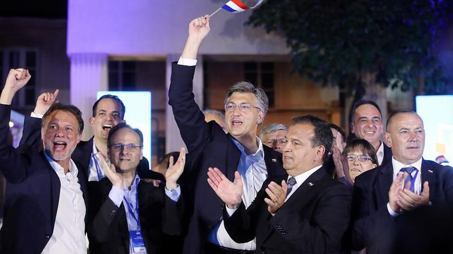Croatia's ruling conservatives win parliamentary election