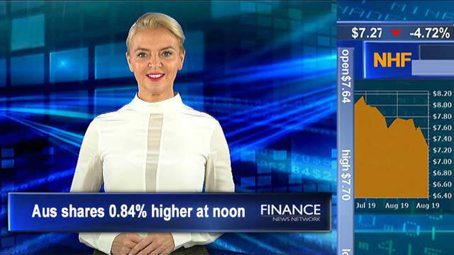 BlueScope shares drop on US expansion news: ASX tracking 0.8% higher at noon