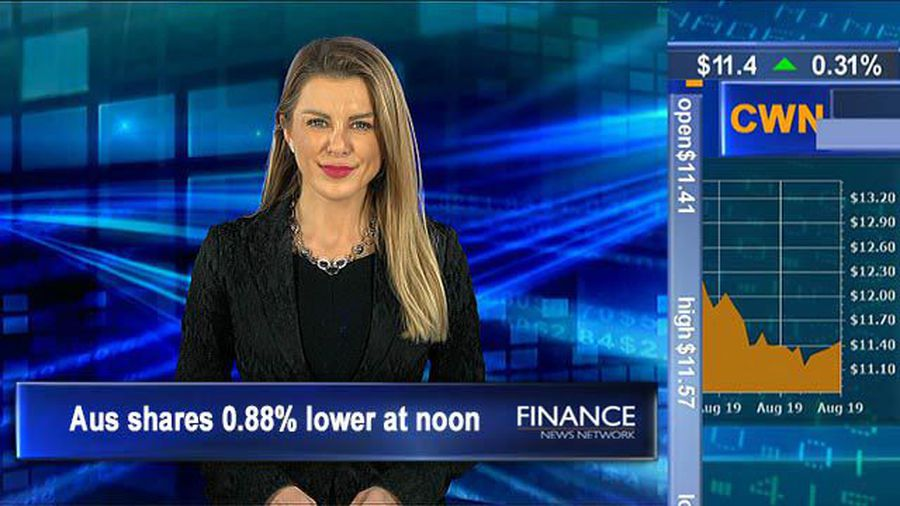 Global bonds & US equites retreat, McMillan outperforms: Aus shares 0.9% lower at noon