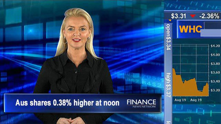 Mixed earnings see morning dip in the market: ASX tracking 0.4% higher at noon