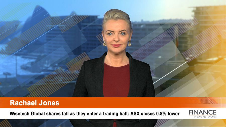 Wisetech Global shares fall as they enter a trading halt: ASX closes 0.8% lower